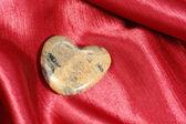 Mramorové srdce — Stock fotografie