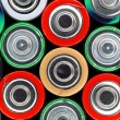 Used AA batteries — Stock Photo #21557527