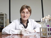 Technicien de laboratoire femelles — Photo