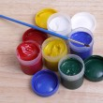 Art paint tubes — Stock Photo