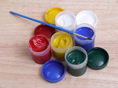 Art paint tubes — Photo