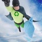 Eco superhero — Stock Photo