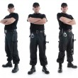 Three security guards — Stockfoto #23483765