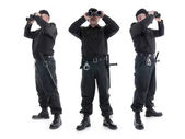 Protezioni di sicurezza — Foto Stock