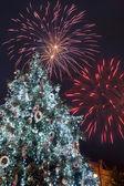 New Year's Eve celebration — Stock Photo