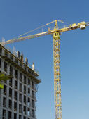 Jib crane — Stock Photo