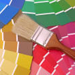 Color swatches — Stock Photo #32531721