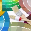 Color swatches — Stock Photo #32531763