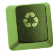 Recycle key — Foto Stock