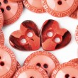 Two heart buttons — Stock Photo #32532279