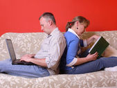Spending time together — Stock Photo