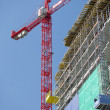 Stock Photo: Highrise construction