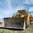 Backhoe loader — Stock Photo #32972777