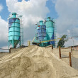 Concrete batching plant — Stock Photo