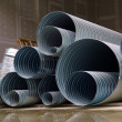 Steel pipes — Stock Photo