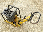 Plate compactor — Stock Photo