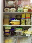 Full fridge — Stock Photo