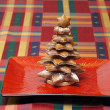 Gingerbread cake christmas tree — Stockfoto