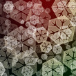 Snowflake background — Stock fotografie