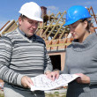 Building engineers — Foto Stock