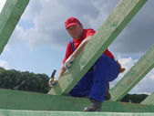 Roofer — Stock Photo