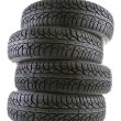 Car tires — Stock Photo #37372781