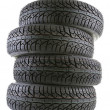 Car tires — Foto Stock #37372781