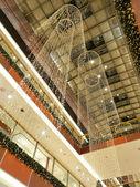 Christmas shopping mall — Stock Photo
