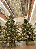 Christmas shopping mall — Zdjęcie stockowe