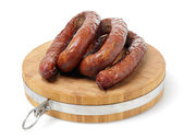 Polish sausage — Stock Photo