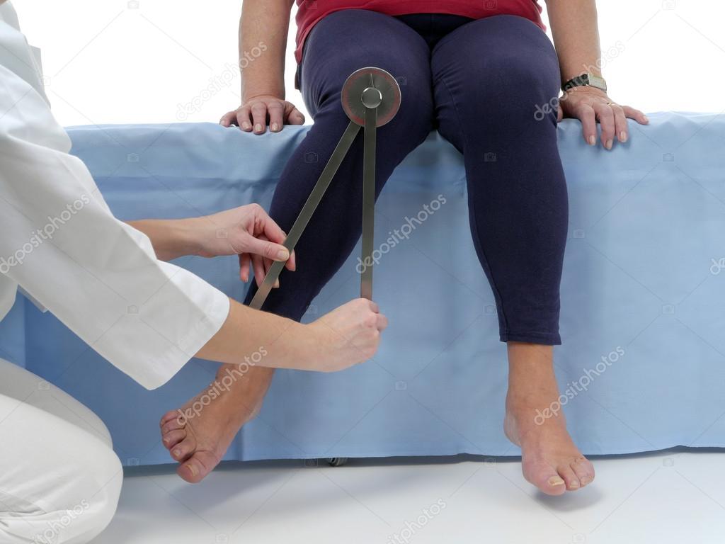 как измерить угол сгибания коленного сустава