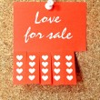 Love for sale — Stock Photo #37979665