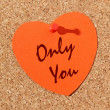 Stock Photo: Only you