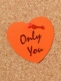Only you — Foto Stock