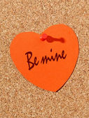 Be mine — Foto Stock