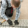 Paving work — Stock Photo #38498475