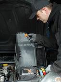 Car fuse check — Stock Photo