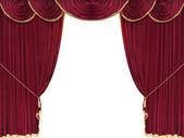 Drop curtain — Stock Photo