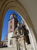 вавельский собор — Стоковое фото