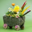 Easter cart — Stock Photo #40712145