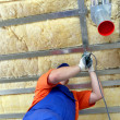 Thermal insulation work — Stock Photo #40727023