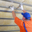 Thermal insulation work — Stock Photo #40839087