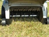 汽油割草机 — 图库照片