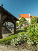 Kazimierz Dolny town square — Stock Photo