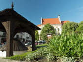 Kazimierz Dolny town square — Stock Photo