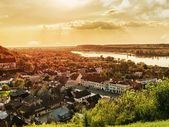 Panorama of Kazimierz Dolny — Stock Photo