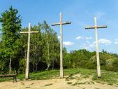 Three Crosses Mountain — Stock Photo