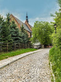 St James Church in Sandomierz — Stock Photo