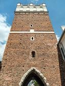 Opatowska Gate in Sandomierz — Stock Photo