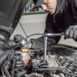 Glow plug replacement — Stock Photo #50871451